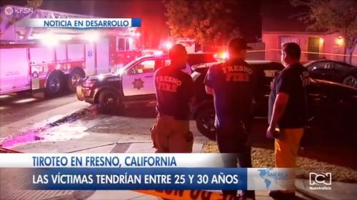 Fiesta terminó en tiroteo que dejó cuatro muertos y seis heridos en Fresno, California