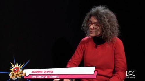 Joana Reposi revive el legado del chileno Pedro Lamebel con el documental 'Lamebel'