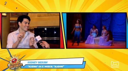 """""""Es un privilegio tomar este papel"""": Rodney Ingram sobre su rol protagónico en el musical 'Aladino'"""