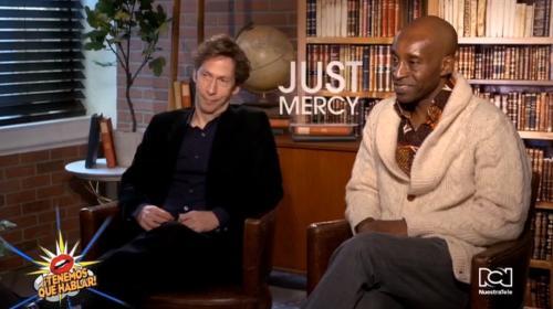 Tim Blake y Rob Morgan nos contaron su experiencia a la hora de hacer la película 'Just Mercy'