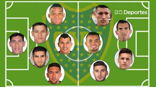 Riquelme y dos colombianos para su once ideal de Boca Juniors 2020-21