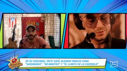"""Sie7e vuelve a sonar en las estaciones de radio gracias al álbum """"Gaia"""""""