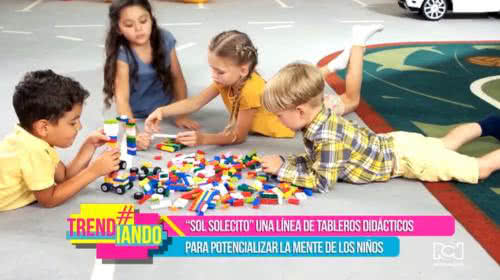 Pareja bogotana crea línea de tableros didácticos para potencializar la mente de los niños