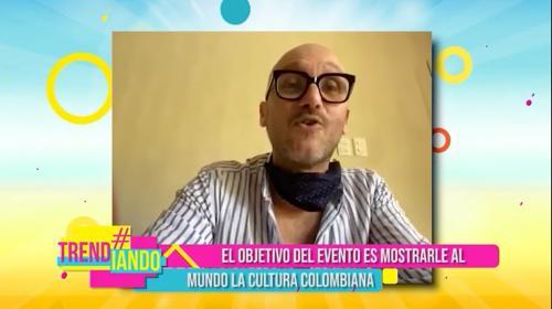 Charlie otero nos cuenta detalles de su participación en el evento Open Window to Colombia