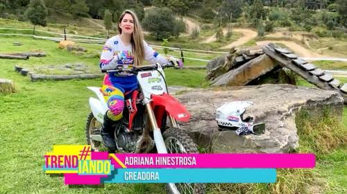 Más Mujeres en Moto, una iniciativa que invita a las mujeres a practicar motocross