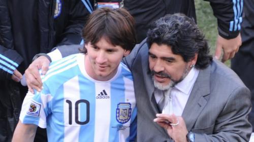 Lionel Messi despide a Maradona: Nos deja pero no se va, porque el Diego es eterno