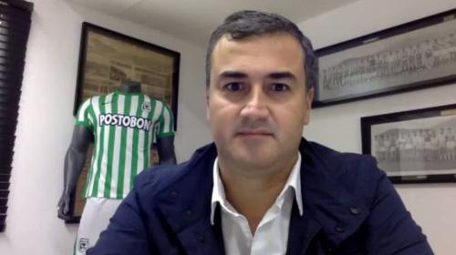 ¿Por qué renunció a la presidencia de Nacional? Juan David Pérez da sus razones