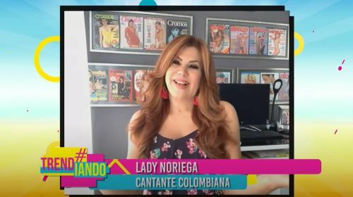 Lady Noriega nos habla sobre su cover de Señor y aprovecha para jugar ahorcadito con Hernán y Cata