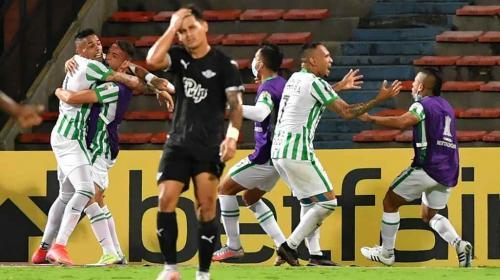 Atlético Nacional mostró su lado copero: pasó a los grupos de la Libertadores
