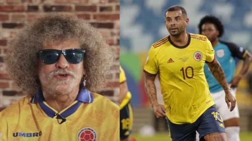 Pibe Valderrama elogió al actual 10 de Colombia: Cardona metió un gol de barrio