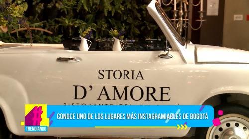 Enamórese del restaurante más instagramiable de Bogotá con Storia D Amore