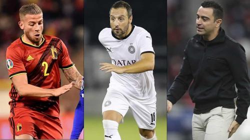Compañía de lujo para James: las figuras del fútbol de Catar