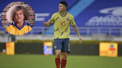 Pibe Valderrama y la vuelta de James a la Selección: Tiene que pedir disculpas públicas