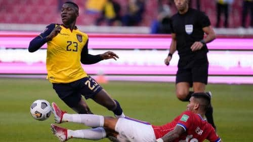 Las dos primeras bajas que tendría Ecuador para enfrentar a Colombia en las Eliminatorias