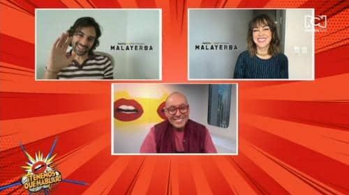 María Elisa Camargo y Sebastián Eslava hablaron sobre su experiencia en la serie Malayerba