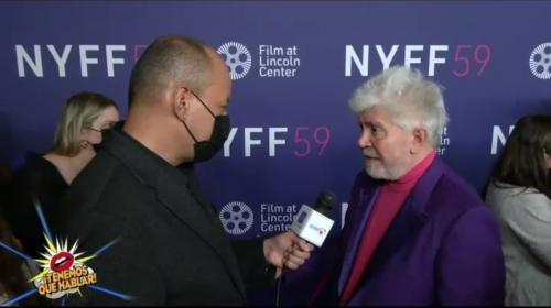 Alfonso Díaz conversó con las estrellas de Madres Paralelas en el cierre del New York Film Festival