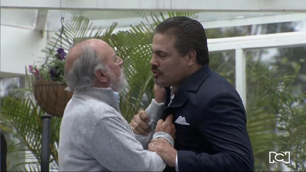 Amor en Custodia   Capítulo 86   Santiago sufre un nuevo infarto