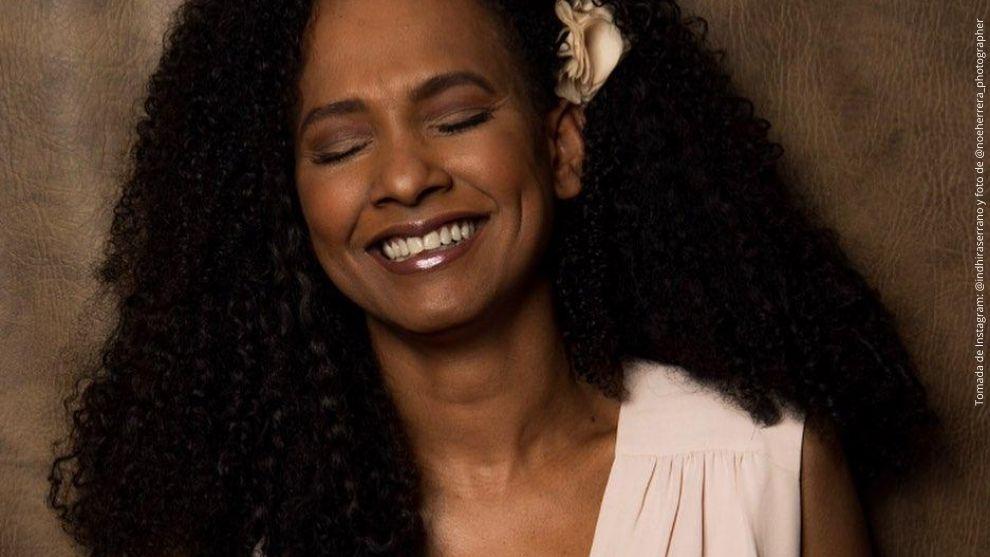 Indhira Serrano, actriz de Amor Sincero.