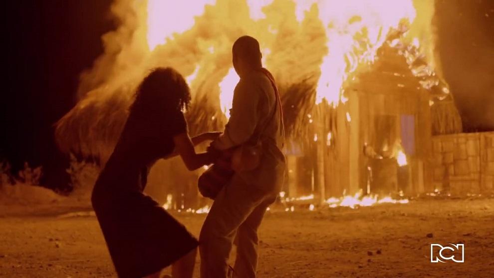 Azúcar | Capítulo 6 | Lola y Seuniel prenden fuego al rancho de Sixta
