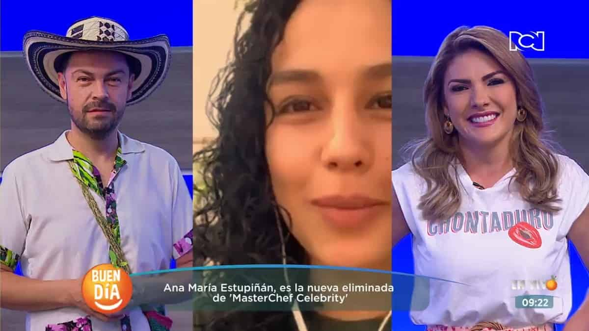 Ana María Estupiñan nos contó quién es su favorito en MasterChef