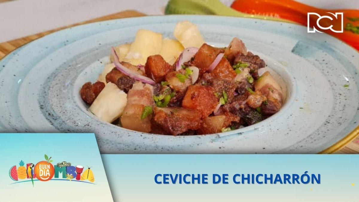 RECETA: CEVICHE DE CHICHARRÓN