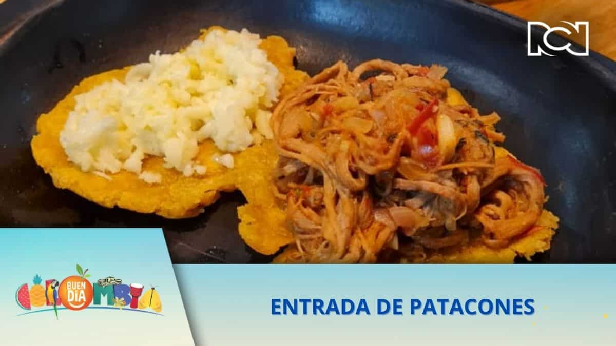 RECETA: ENTRADA DE PATACONES