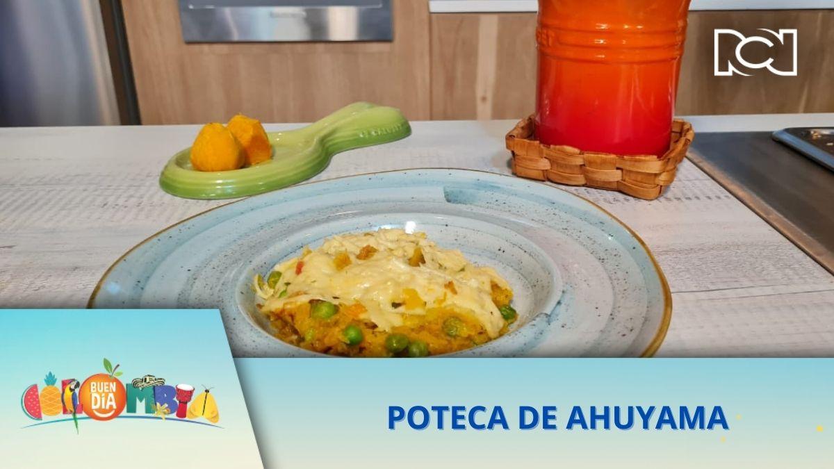 RECETA: POTECA DE AHUYAMA