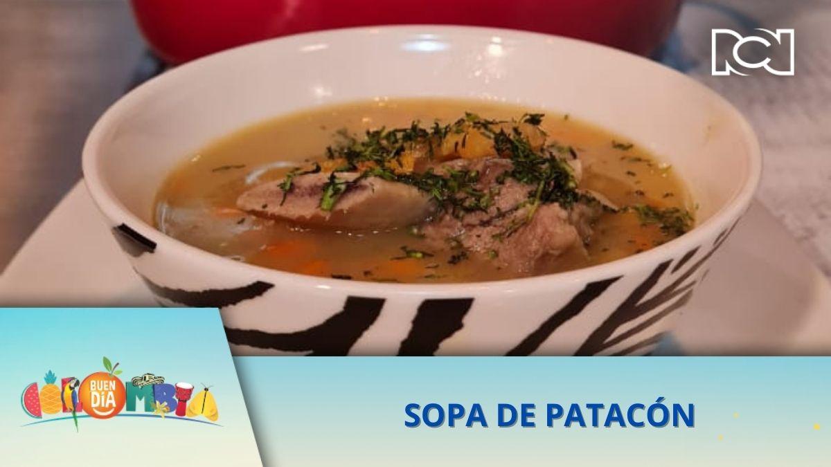 RECETA: SOPA DE PATACÓN