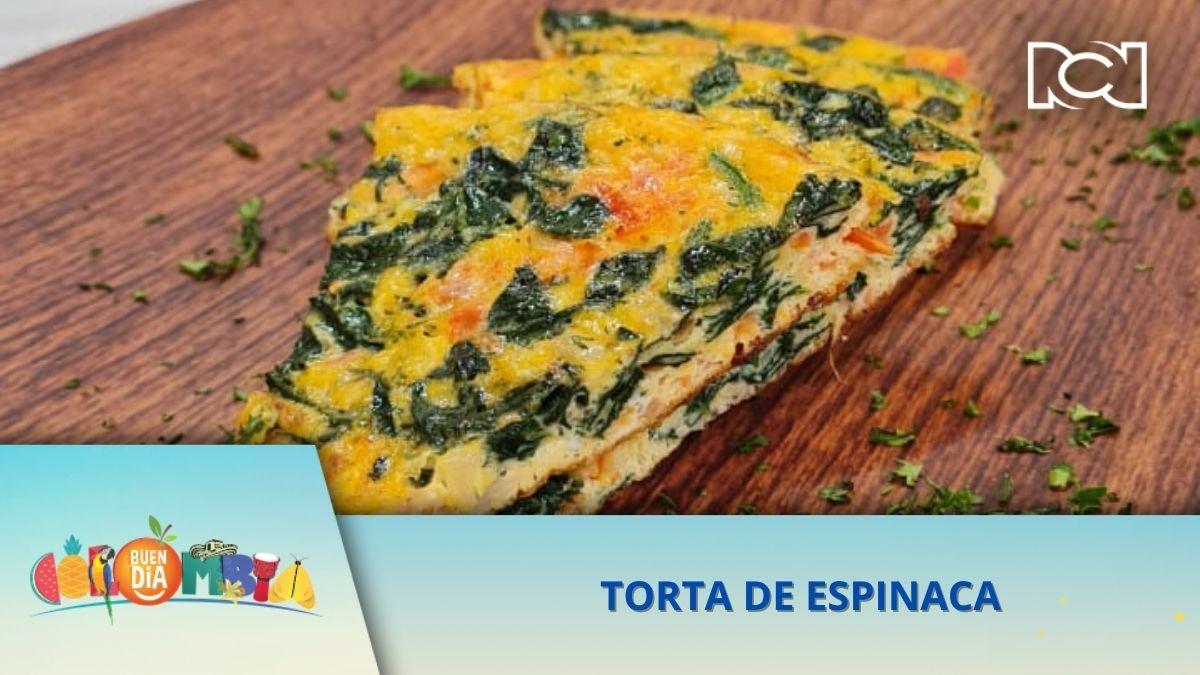 RECETA: TORTA DE ESPINACA