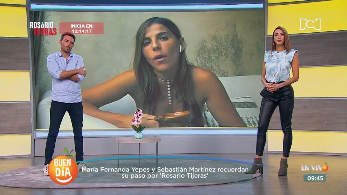 Kathy Sáenz, Sebastián Martínez y María Fernanda Yepes nos acompañaron