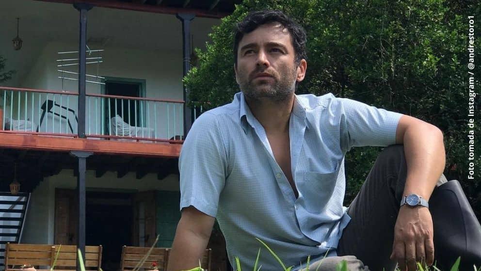 Andrés Toro se meterá en la piel de Aurelio Díaz en esta gran producción de RCN. Foto tomada de Instagram / @andrestoro1
