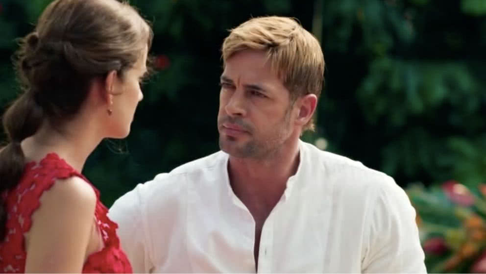 Sebastián confronta a Gaviota y le pide que le cuente la verdad