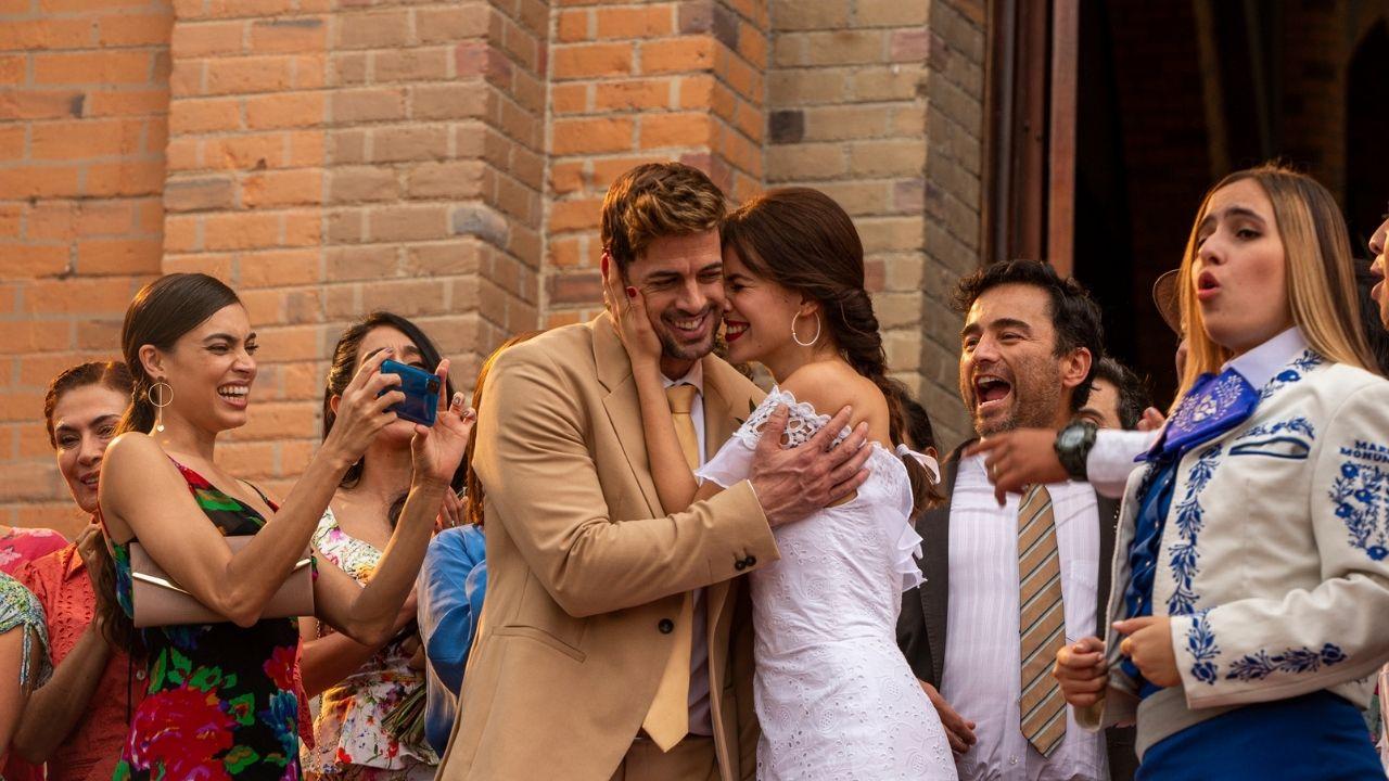 Sebastián y Gaviota se casan