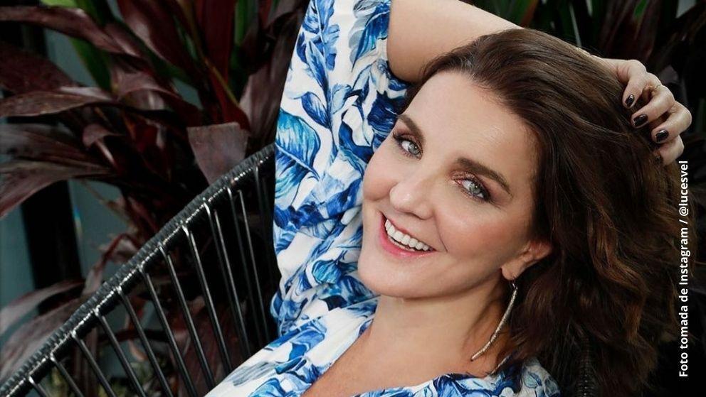 Luces Velásquez se mostró emocionada por la producción en la que interpretará a Julia Vallejo. Foto tomada de Instagram / @lucesvel