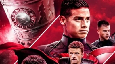 James, Capitán América del Bayern Múnich