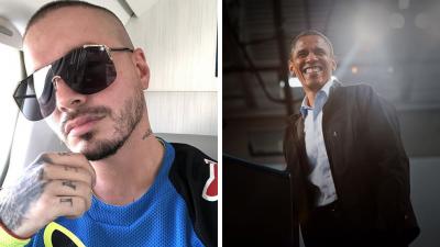 Obama se declara seguidor de J Balvin.