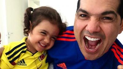 Peter Manjarrés canta a su hija por su cumpleaños (Tomada de Instagram)