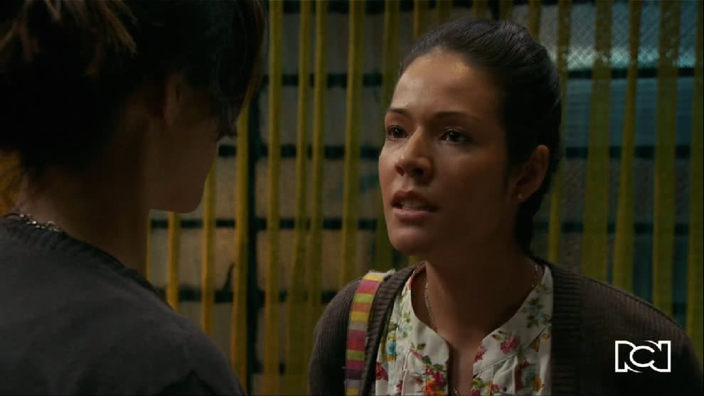 Yolanda confronta a Helena antes de que se vaya