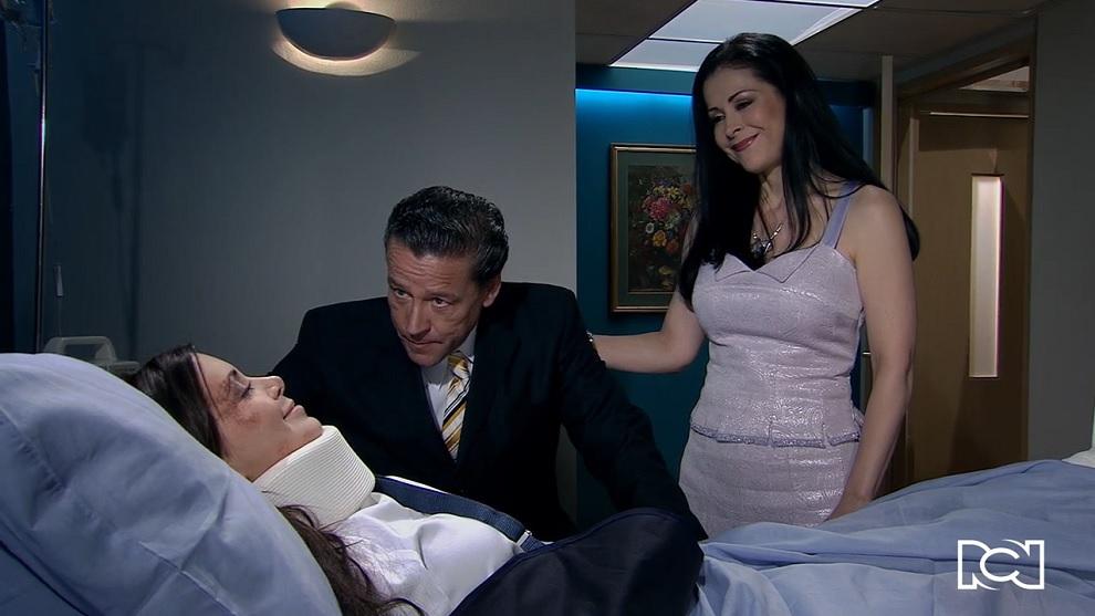 Cuando Me Enamoro   Capítulo 76   Adriana despierta en el hospital