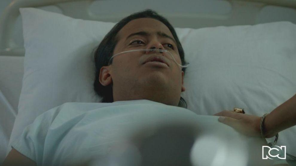 Diomedes es trasladado de urgencias al hospital