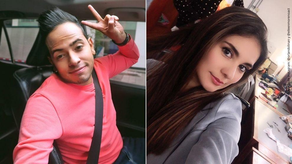 Eileen Moreno y Orlando Liñán.