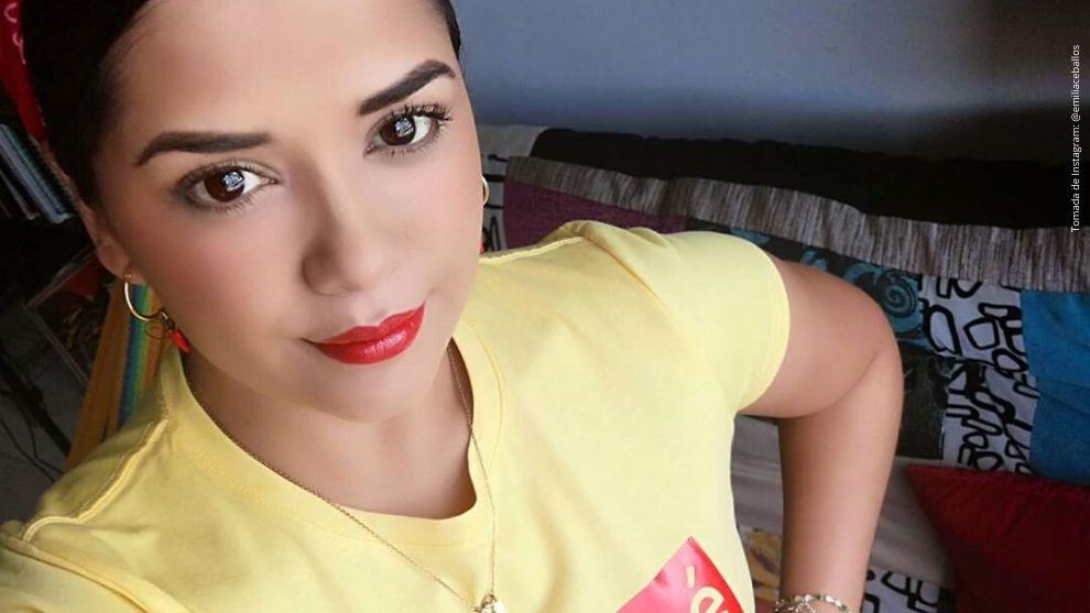 Emilia Ceballos, actriz de Diomedes, el Cacique de La Junta