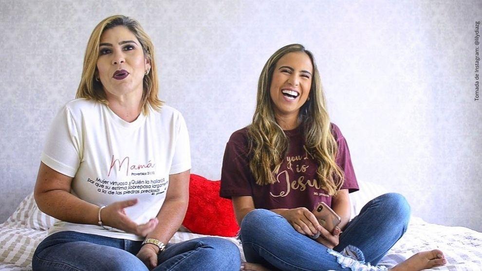 Lily Díaz y Betsy Liliana González.
