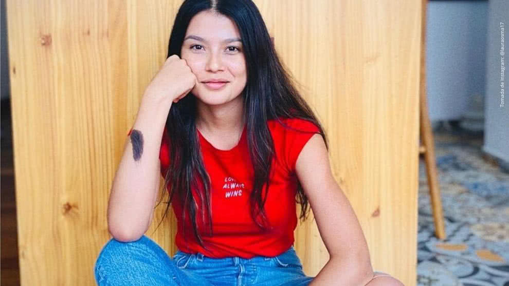 Laura Osma, actriz de Diomedes, el Cacique de La Junta.