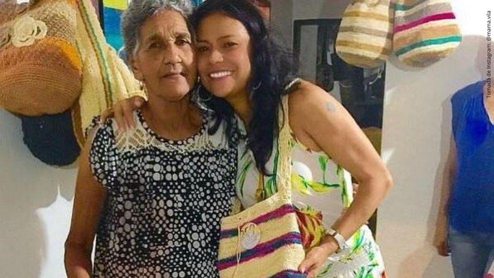 Mamá Vila y Adriana Ricardo.