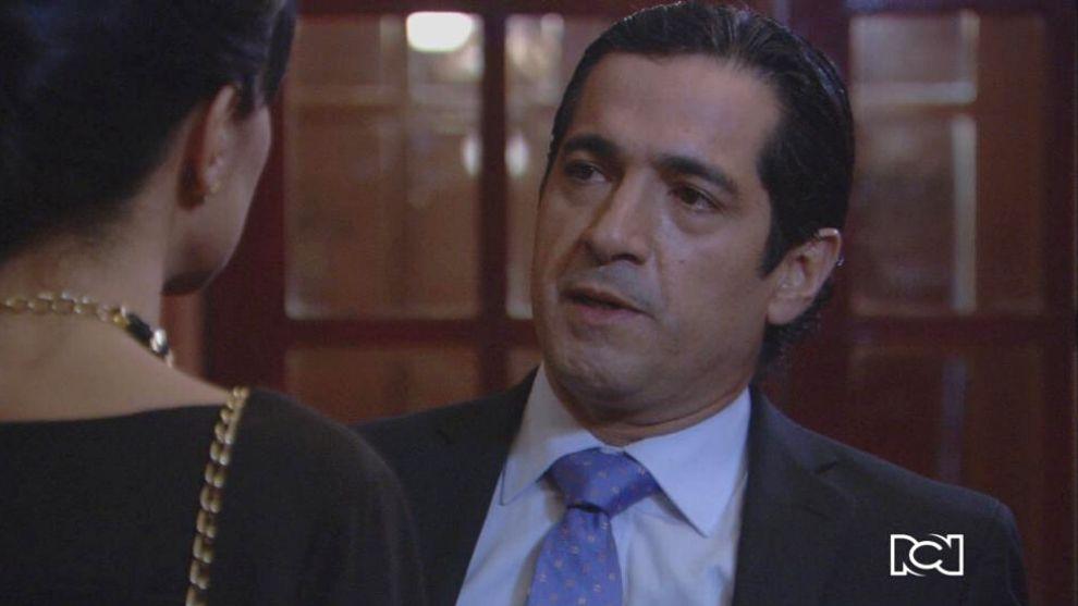 Jorge Mario se entera de la infidelidad de Tatiana