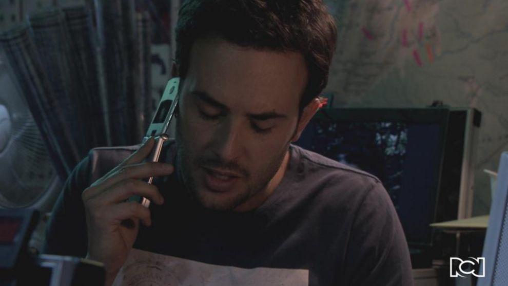 Esteban se comunica con Gabriel