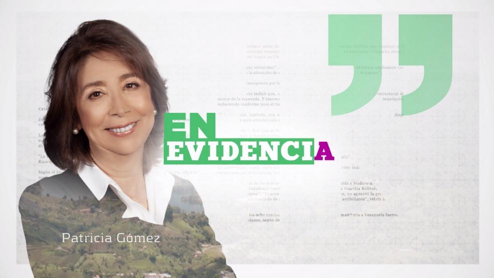 Patricia Gómez En Evidencia Nuestra Tele