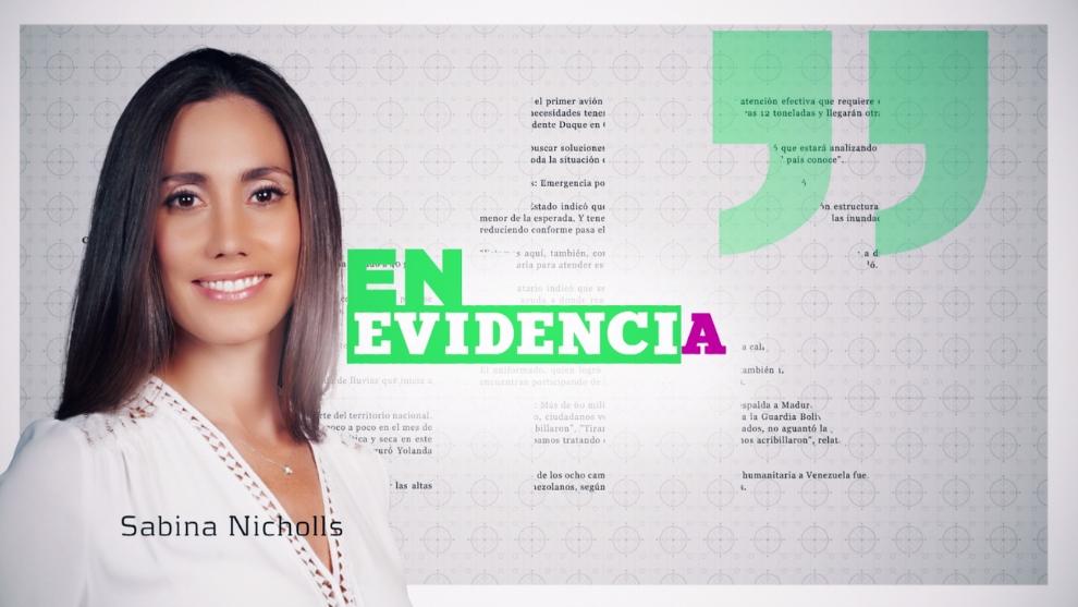 Sabina Nichols Ospina quiere poner 'En Evidencia' casos en el olvido y sin resolver