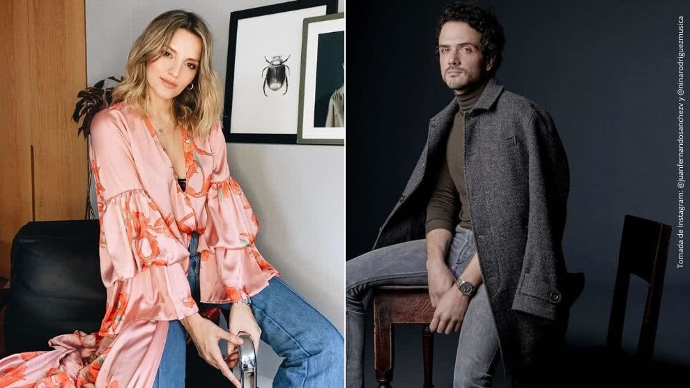 Juan Fernando Sánchez y Nina Rodríguez.